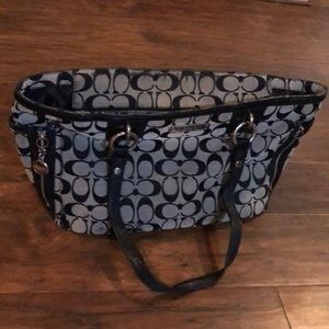 Well loved coach bag